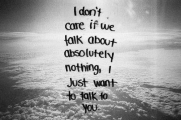 I DONT CARE