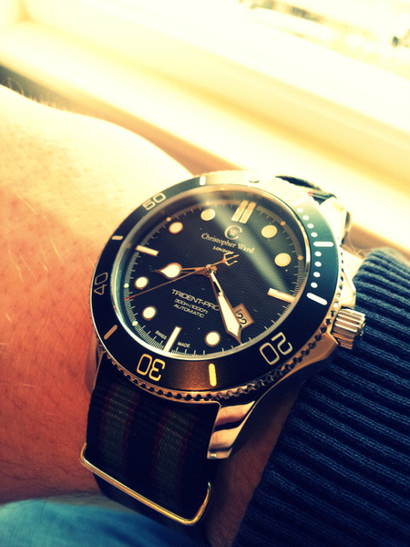 1 20120223 080832 001 Christopher Ward C60 Trident Bond Review