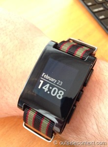 photo 6 thumb2 Pebble Smart Watch Review   More than just potential?