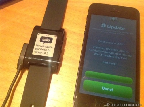 photo 8 Pebble Smart Watch Review   More than just potential?
