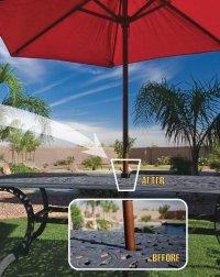 The Patio Umbrella Cone: Keep Your Umbrella Stable ...