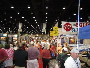The Show Floor At The Rally In Louisville, Kentucky