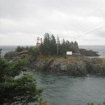 East Quoddy Lighthouse On Campobello Island, Canada.