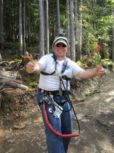 Zip Lining In Newfoundland