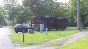 Our Site At Pine Ridge RV Park