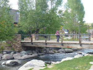 David Along The River In Breckenridge, Colorado