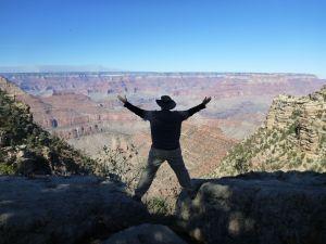 David Enjoying The View