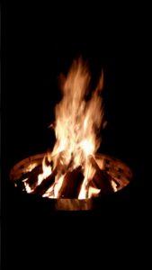 Campfire Roaring!