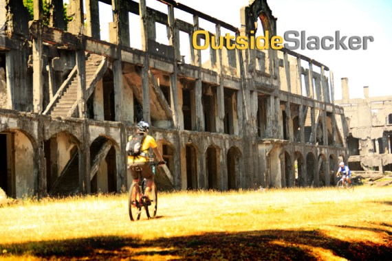 Biking in the Ruins of Corregidor