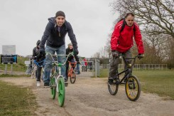 Old School BMX at Gosport BMX track 2015