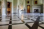 Marble floor at Petworth House