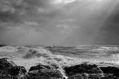 Storm Imogen Lee on the Solent