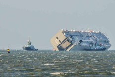 Hoegh Osaka in the Solent
