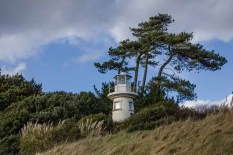 Light house at Lepe Country Park
