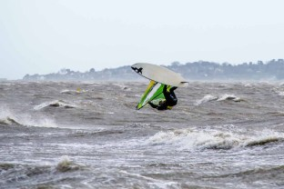 Windsurfing at Hill Head