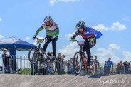 Competitive racing at Gosport BMX Club on or off the track!