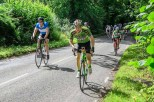 2017 Prudential Ride London Surrey-100 participants at Leith Hill