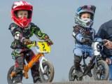 Balance bike racing at Gosport BMX Club