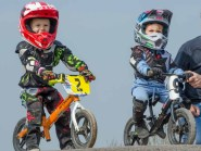 Balance bike racing at Gosport BMX Club