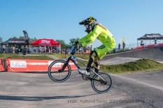 HSBC National Series 2021 Friday practice session at Gosport BMX Track