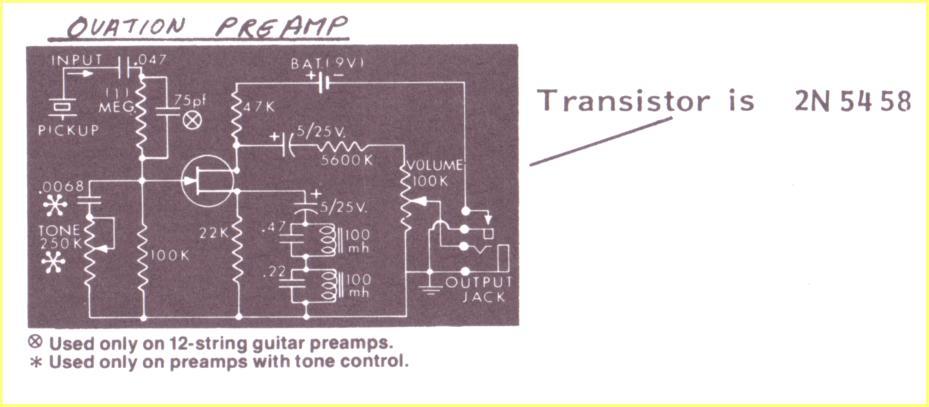 Ovation Pickup Wiring Diagram - Wiring Diagram Schematic