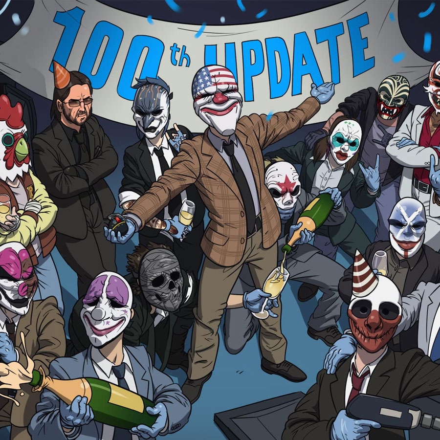 Scarface Full Hd Wallpaper Payday 2 Update 100 Overkill Software