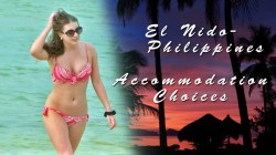 El Nido, Palawan, Philippines Accommodation Choices