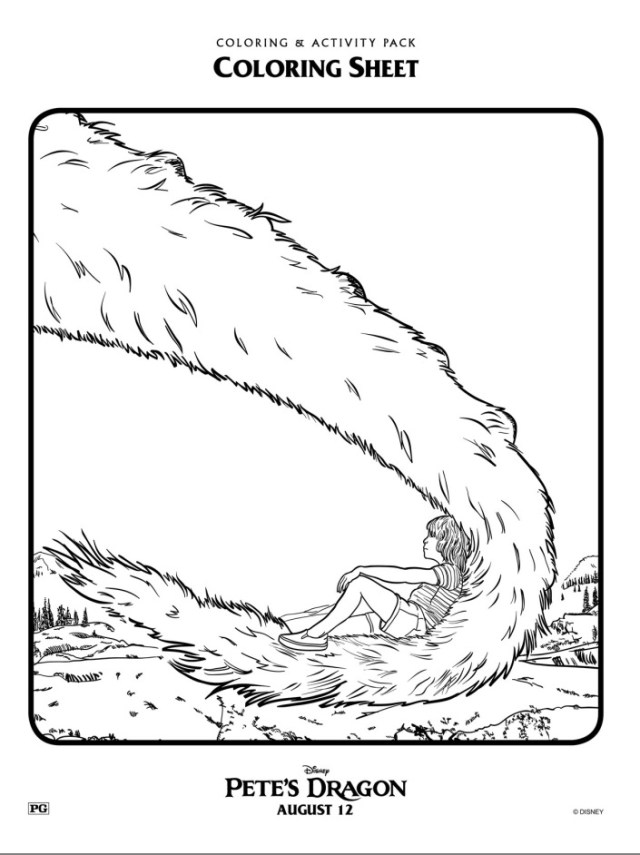 petes-dragon-coloring-page-tail
