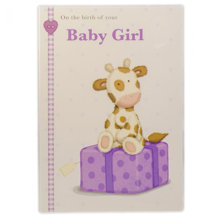 New Born Baby Girl Cards in Sri Lanka - Personalised Greeting Cards
