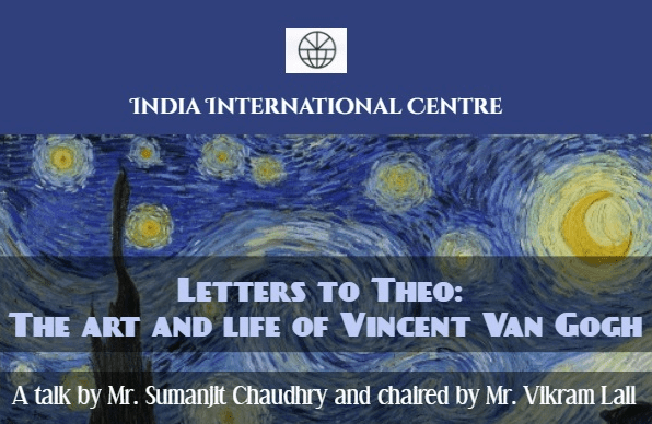 Letters to Theo: the Art and Life of Vincent Van Gogh, Wednesday 19 Sep 2018