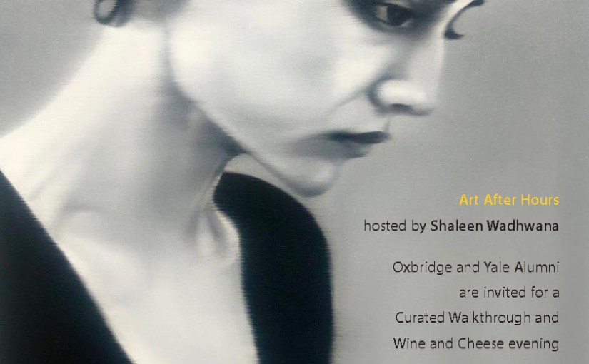 Art After Hours at Vadehra Art Gallery | Wine and Cheese | 25 May 2019