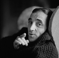 Charles Aznavour quite a few years ago —