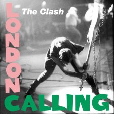 """Paul Simonon, bass player with legendary British punk band The Clash, smashes his guitar in 1979. Here's what he said about it afterwards: """"The show had gone quite well, but for me inside, it just wasn't working well, so I suppose I took it out on the bass. If I was smart, I would have got the spare bass and used that one, because it wasn't as good as the one I smashed up."""" The photograph on this cover is by Pennie Smith"""