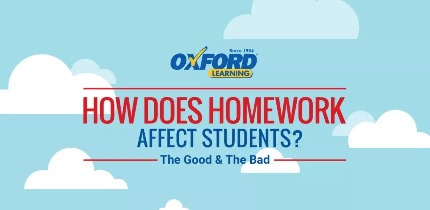 Infographic How Does Homework Actually Affect Students? Oxford