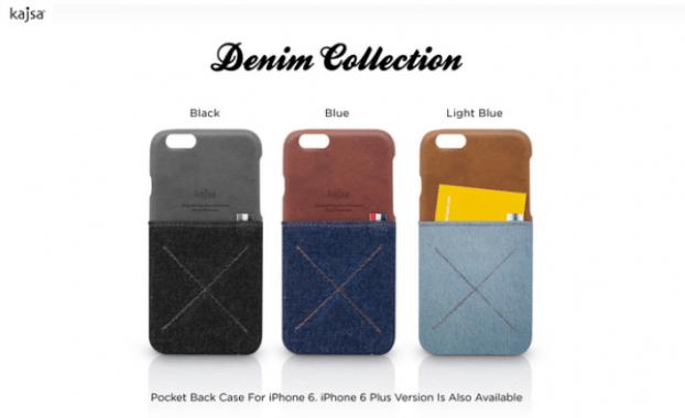 Kajsa denim iphone case