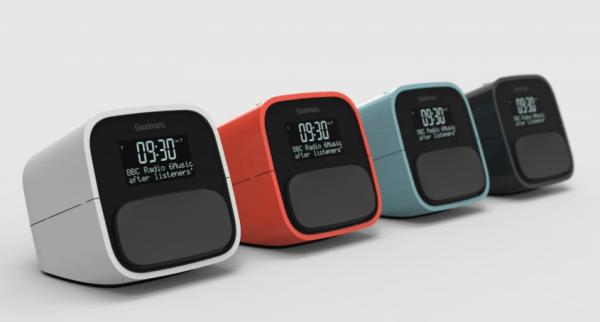 goodmans nod dab digital alarm clock with usb charging oxgadgets. Black Bedroom Furniture Sets. Home Design Ideas