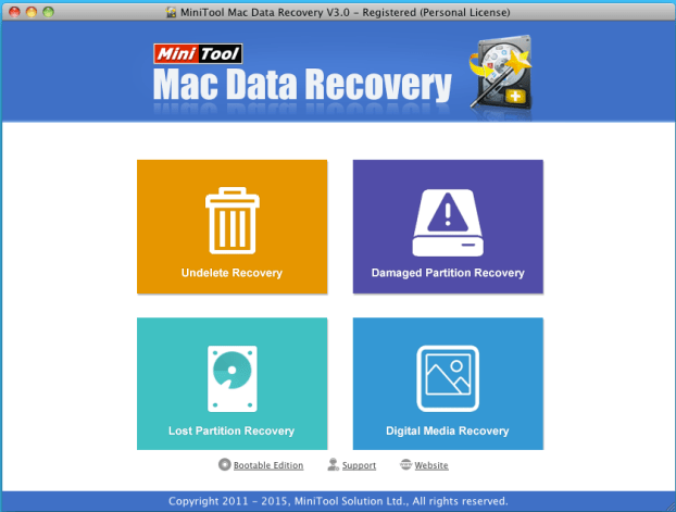 screenshot of MAC 3.0 interface