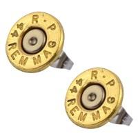 Little Black Gun 44 Mag Bullet Stud Earrings, Thin   eBay
