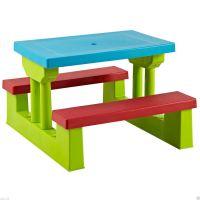 Kids Childrens Picnic Bench Table Set Outdoor Furniture | eBay