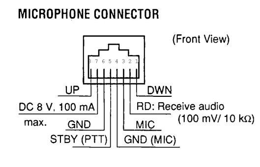 microphone mc 45dm wiring diagram