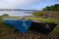 Ascend D10 & Ascend FS10 Kayaks at Berry Bend, Harry S Truman Reservoir