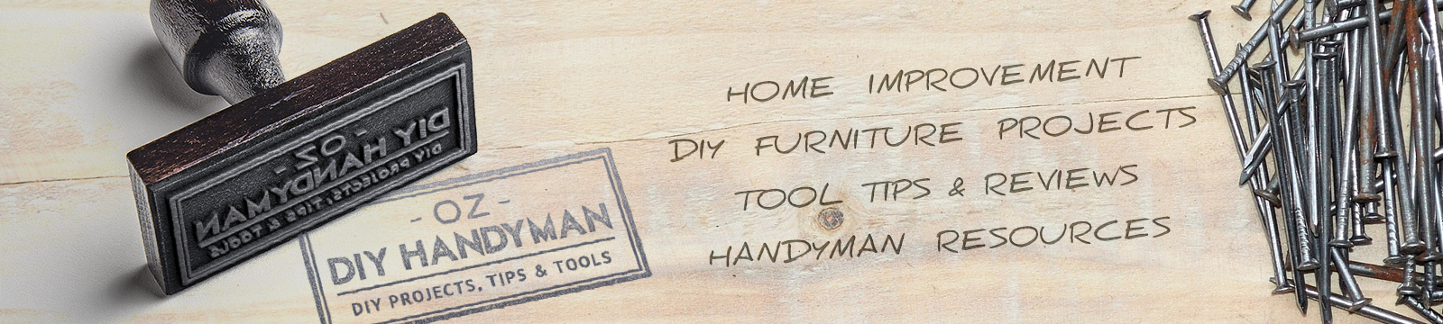 Oz DIY Handyman – Home Improvement – Header