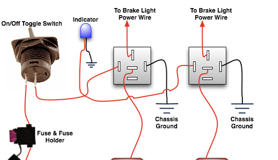 Installing a Rear Brake Light Kill Switch Top Forum Picks - Oznium