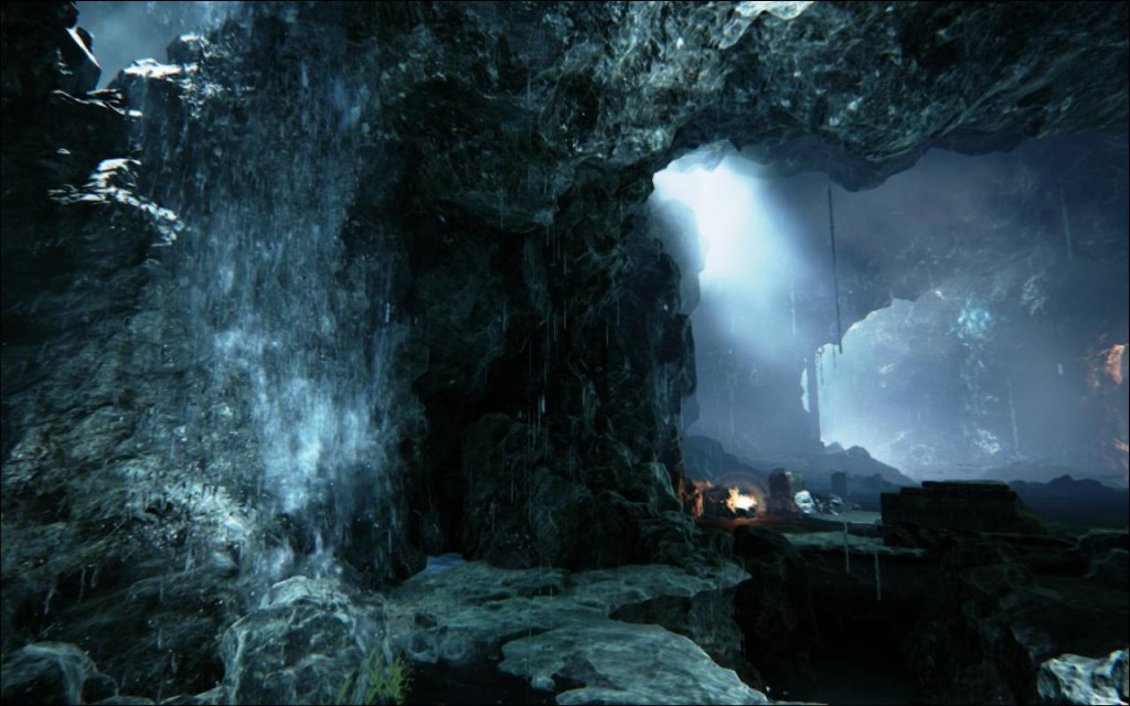 Majoras Mask 3d Wallpaper Hd Unreal Engine 4 Effect Cave Demo