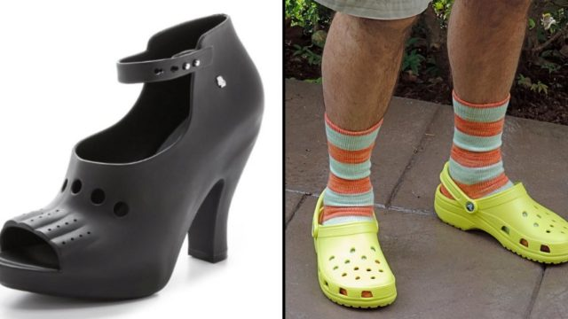 There Is Now A Range Of High Heel Crocs And They Are