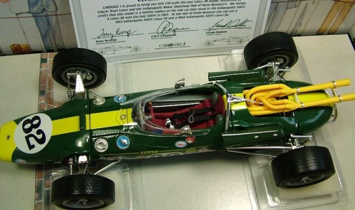 Lotus 38 #82 Jim Clark Indy 500 Winner 1965