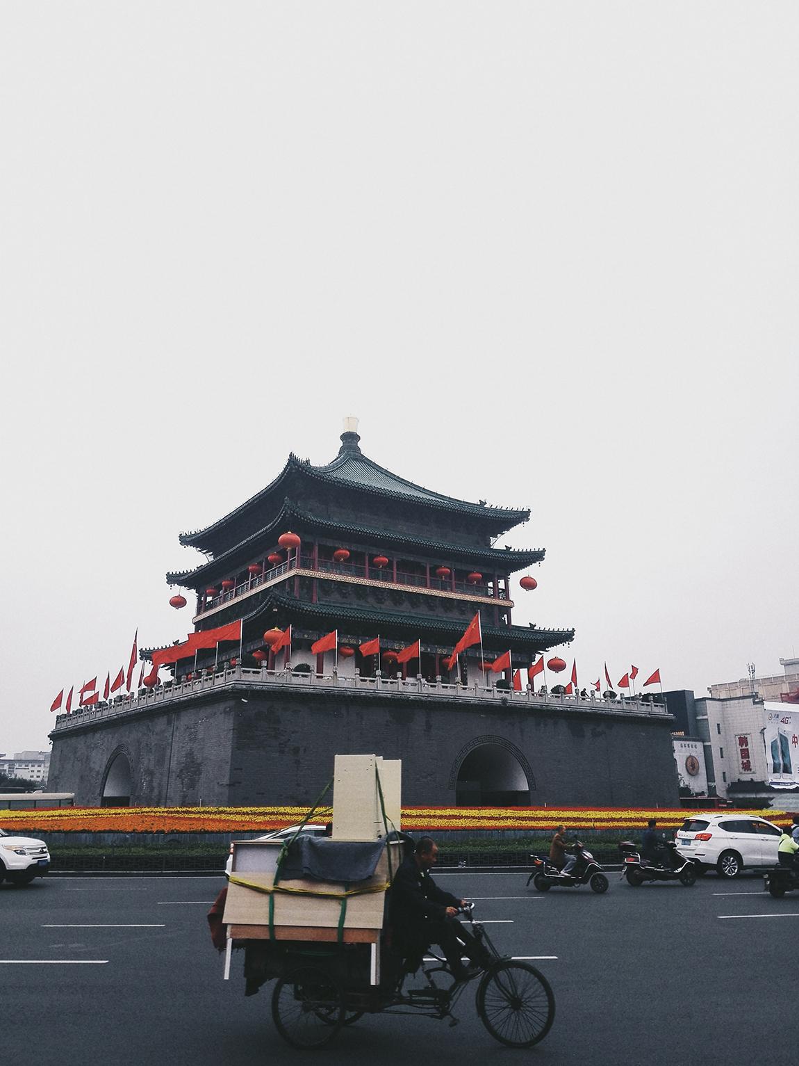 Xi'an 西安 Streets