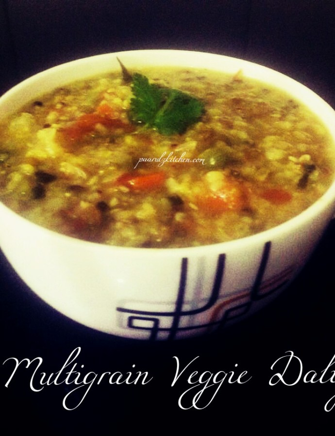 Multigrain Veggie Daliya/ Indian Porridge