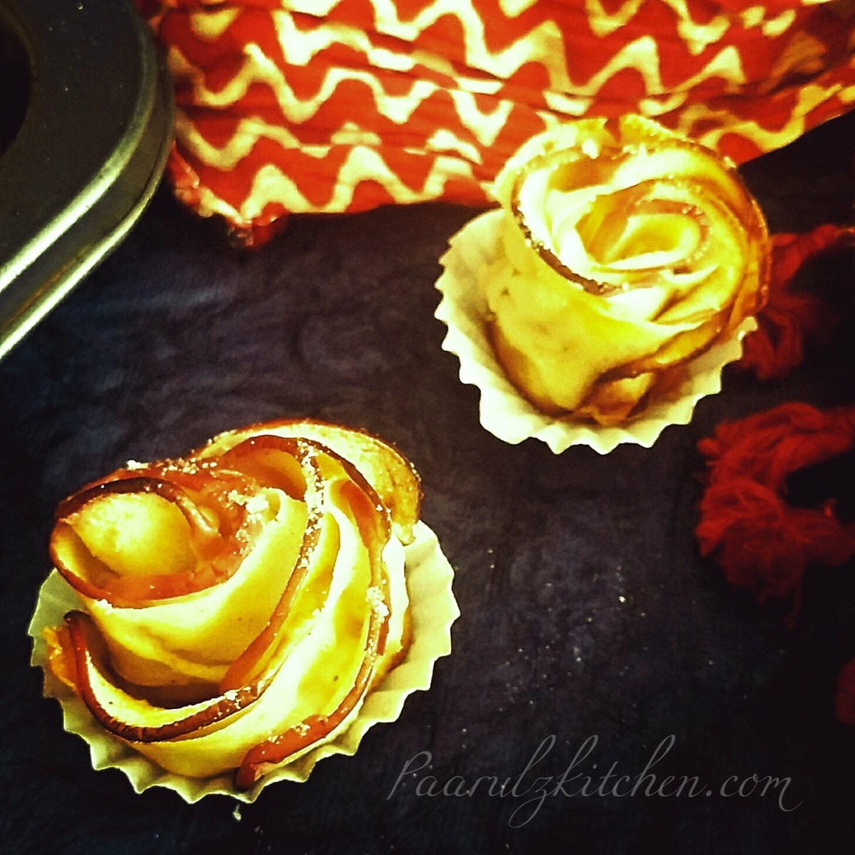 Apple Honey Rosette