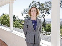 Laura McIver, former general manager of Santa Barbara's El Encanto and Canary hotels. (Business Times file photo)